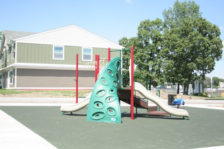 Woodland Village adds Outdoor features including Picnic and Kids Play Area